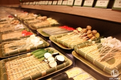 横浜 くし葉のセルフ式 串揚げ・串天食べ放題が旨く楽しく景色最高!無限の味付けも
