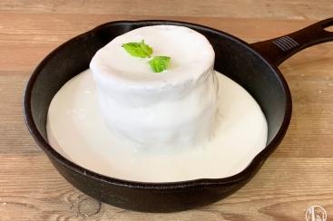 北海道 メルトテーブルで真っ白な「北海道 ミルクキャップパンケーキ」食べて来た!