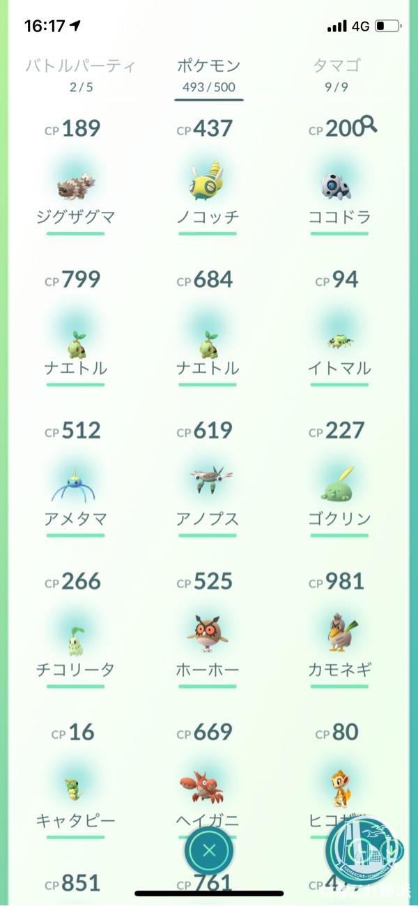 横浜で捕まえたポケモン