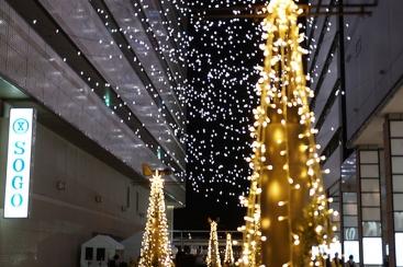 2018年 横浜駅東口イルミネーション「星降るテラス」が11月14日より開催!