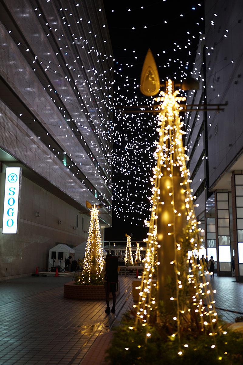 横浜駅東口イルミネーション「星降るテラス」が11月14日より開催!