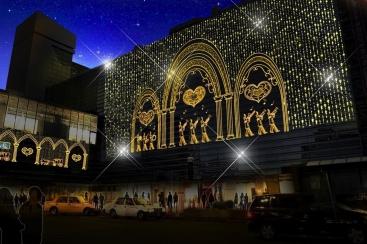横浜駅西口 35th 横浜イルミネーションを11月14日より開催