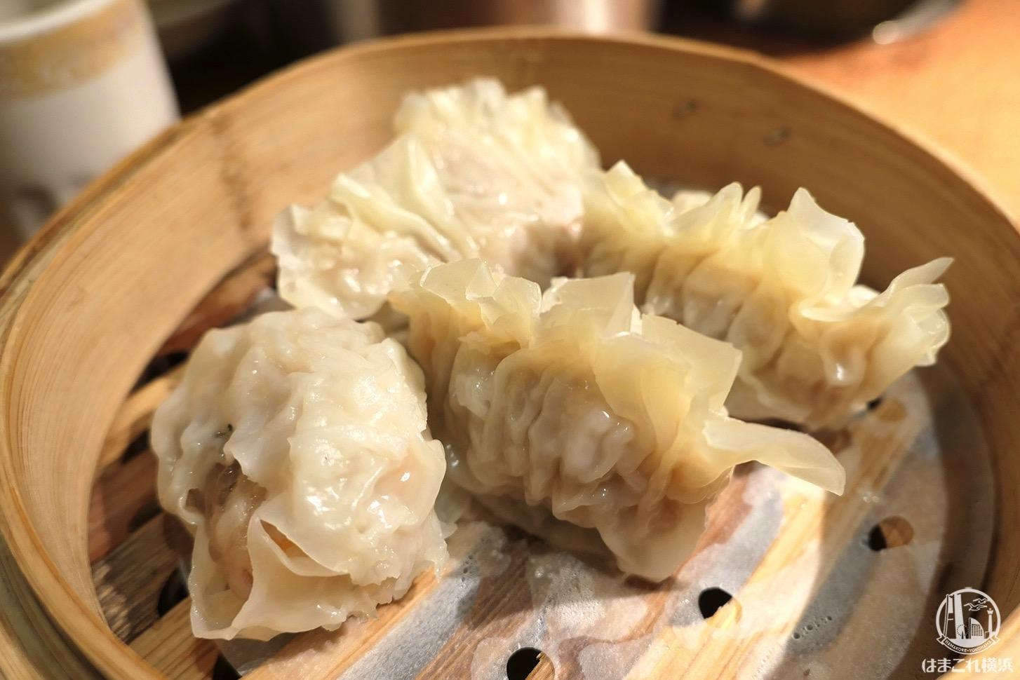 フカヒレ蒸し餃子