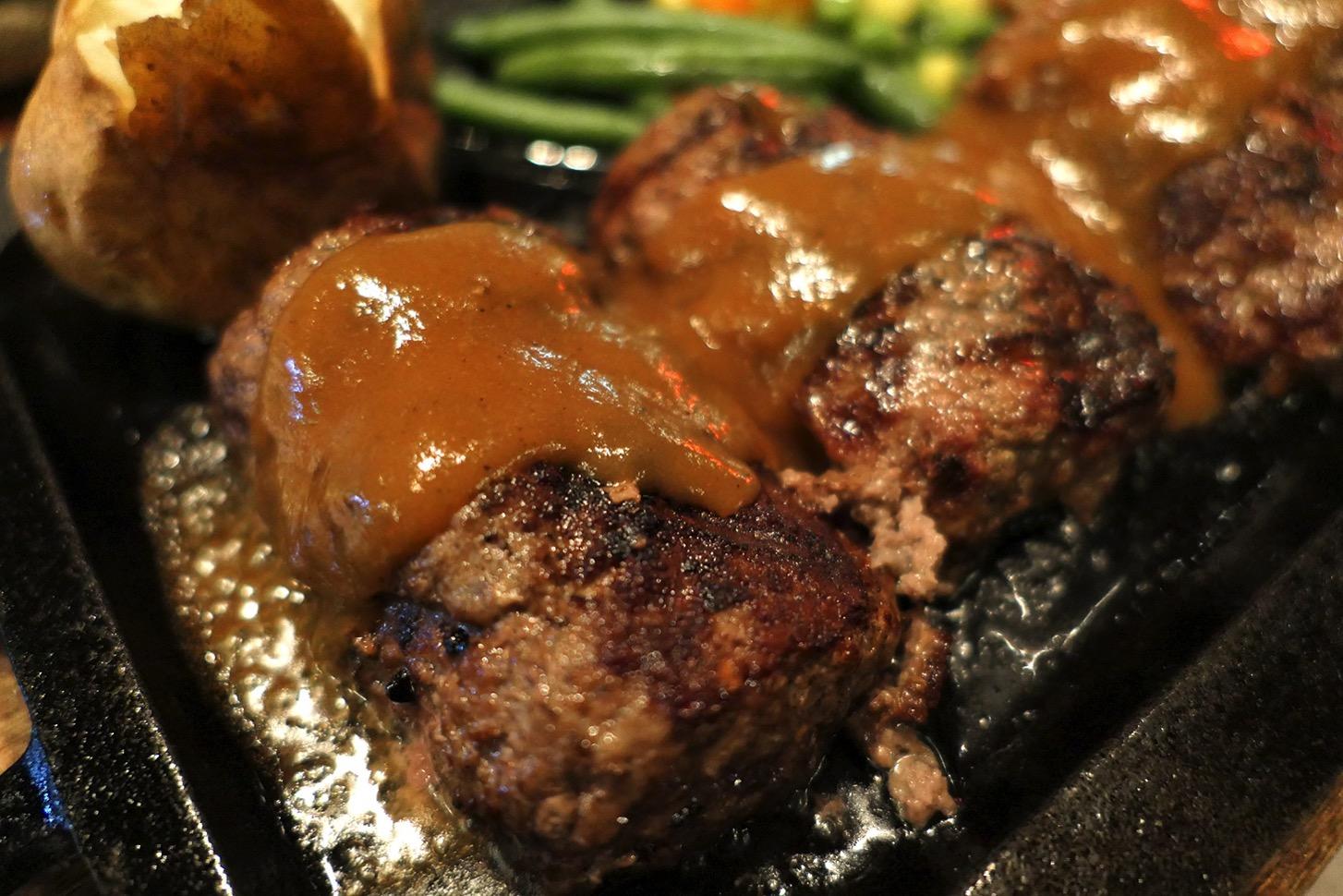 オリジナルハンバーグステーキ グレイビーソース