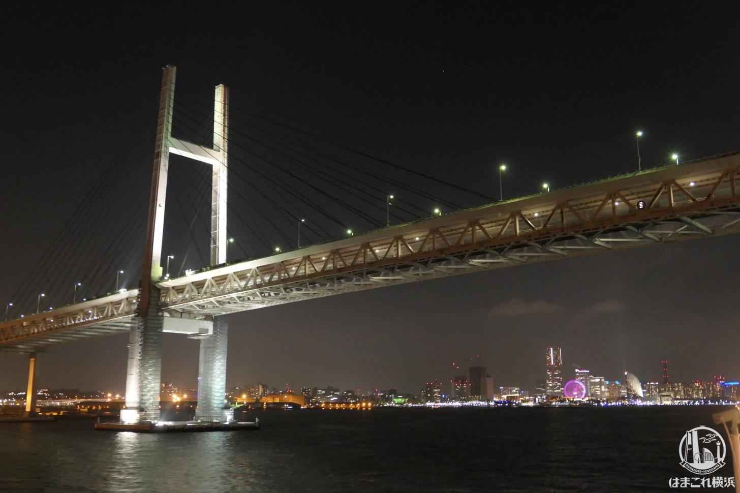 ロイヤルウイングから見る横浜の夜景