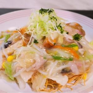 横浜駅「リンガーハット プレミアム」のプレミアム長崎皿うどんが別格・濃厚旨味