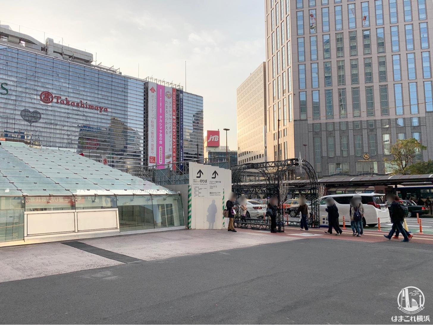 横浜駅西口 新通路