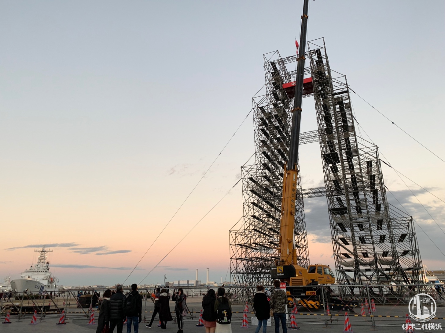 ファイナルステージのタワー