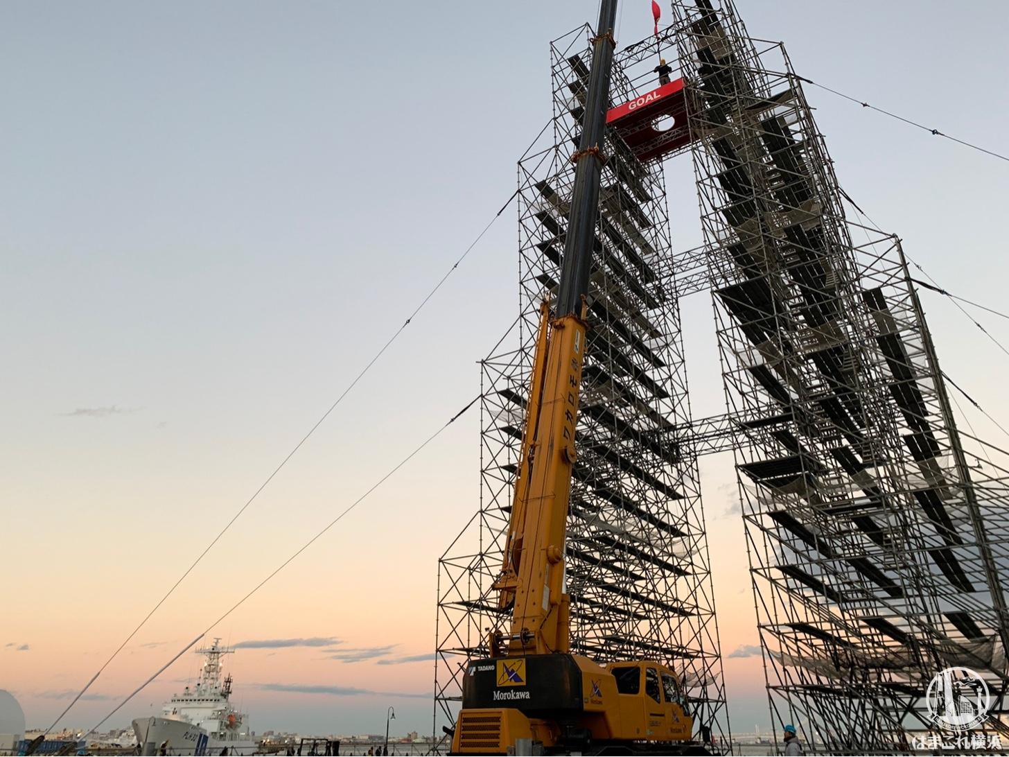 そびえ立つファイナルステージのタワー