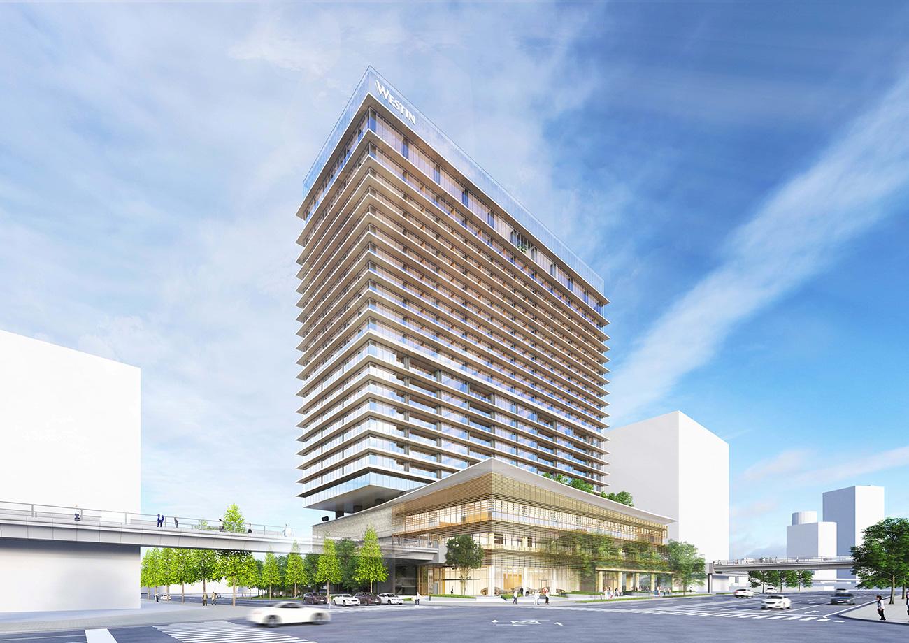 ウェスティンホテル横浜、横浜みなとみらいに2022年春開業!