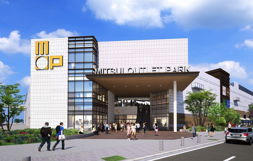 三井アウトレットパーク横浜ベイサイド 外観イメージ(北西エントランス)