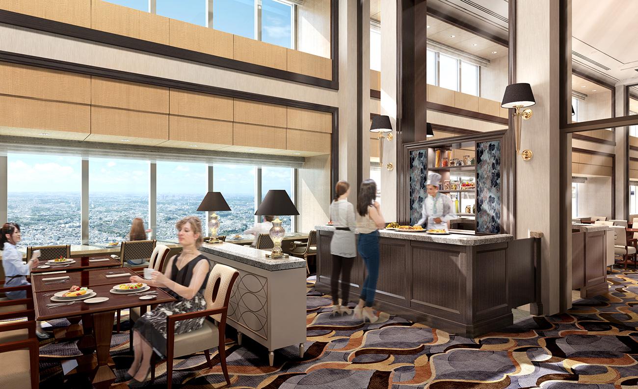 横浜ロイヤルパークホテル 高層階スカイリゾートフロアが「ホテル イン ホテル」に