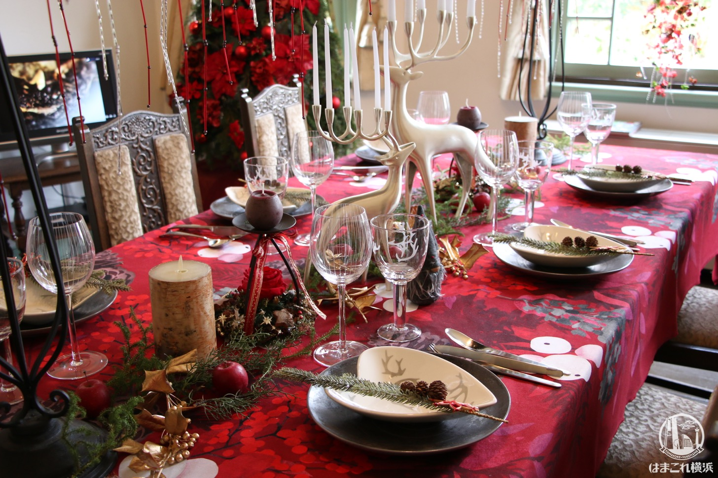 横浜山手西洋館のクリスマス仕様が可愛い!入館無料で世界のクリスマスへ