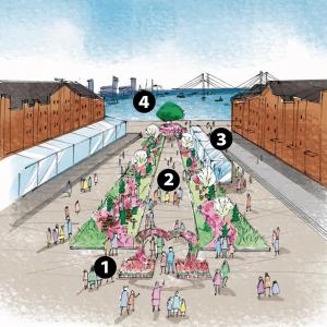 フラワーガーデン2019、横浜赤レンガ倉庫で開催!マーガレットの丘やHANABAR