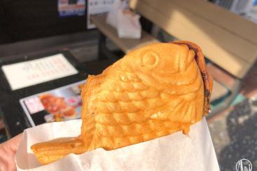 横浜 松原商店街「鯛あん亭」のポテトサラダたい焼き、意外な組み合わせが癖になる!