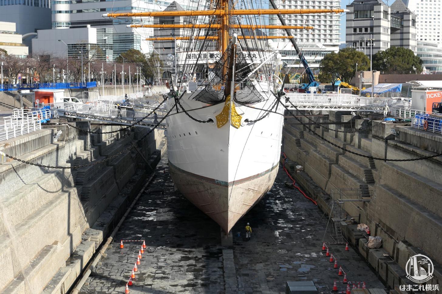 船底のブロック