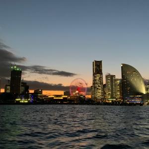 シーバスで海上から横浜の夕景・夜景を満喫!クルージングなのに安くて旅行気分
