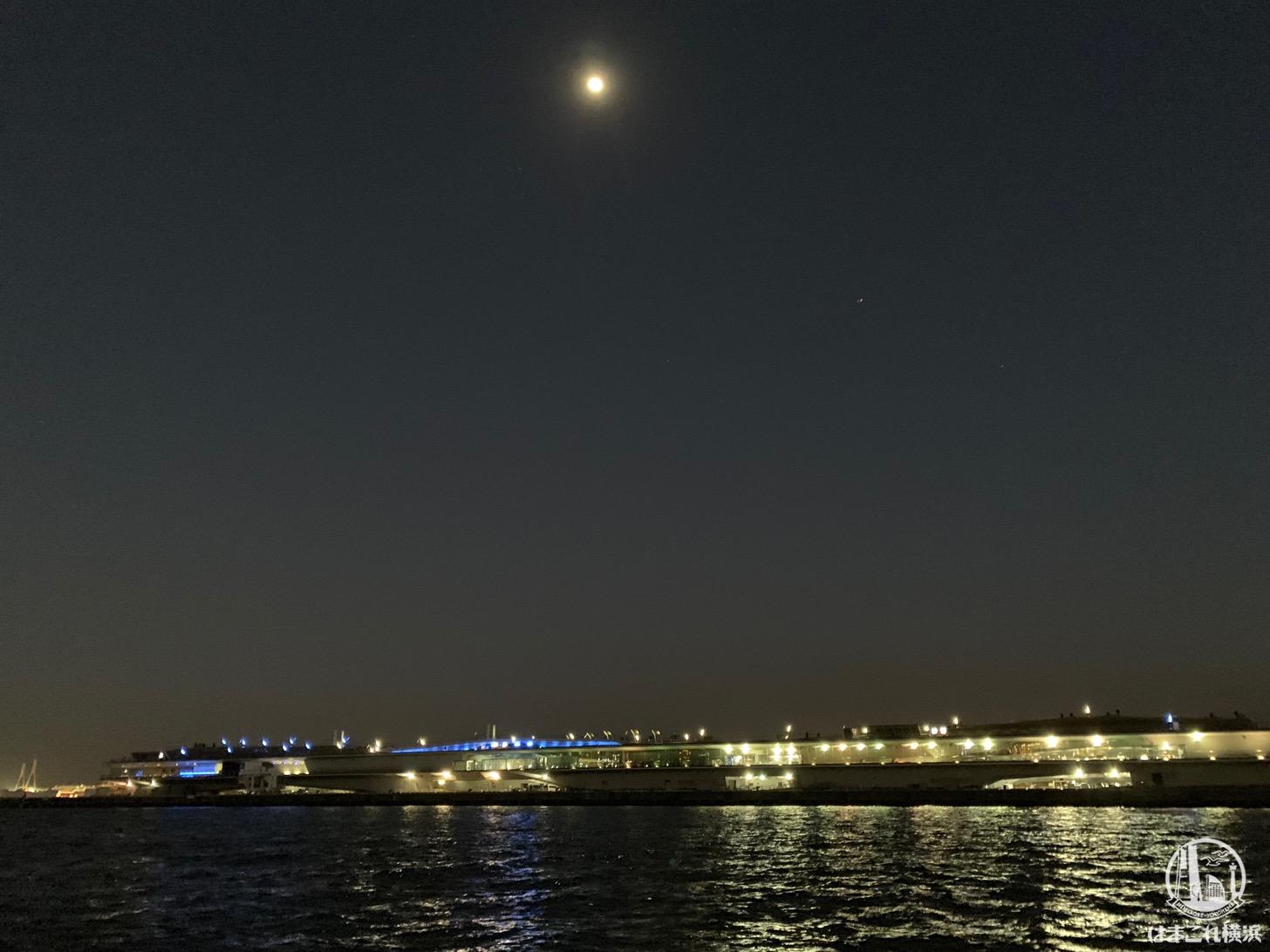 シーバスから見た横浜港大さん橋