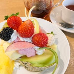 横浜「果実園リーベル」のプリンアラモードがフルーツたっぷりお得な贅沢、カフェ利用