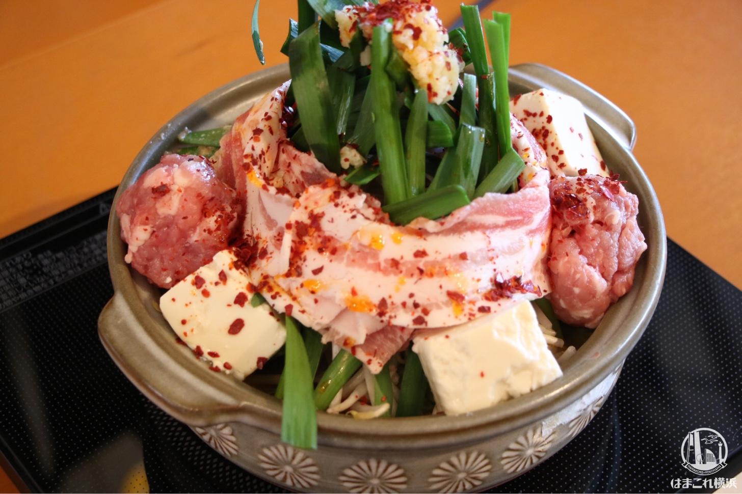 激辛坦々豚スタミナ鍋