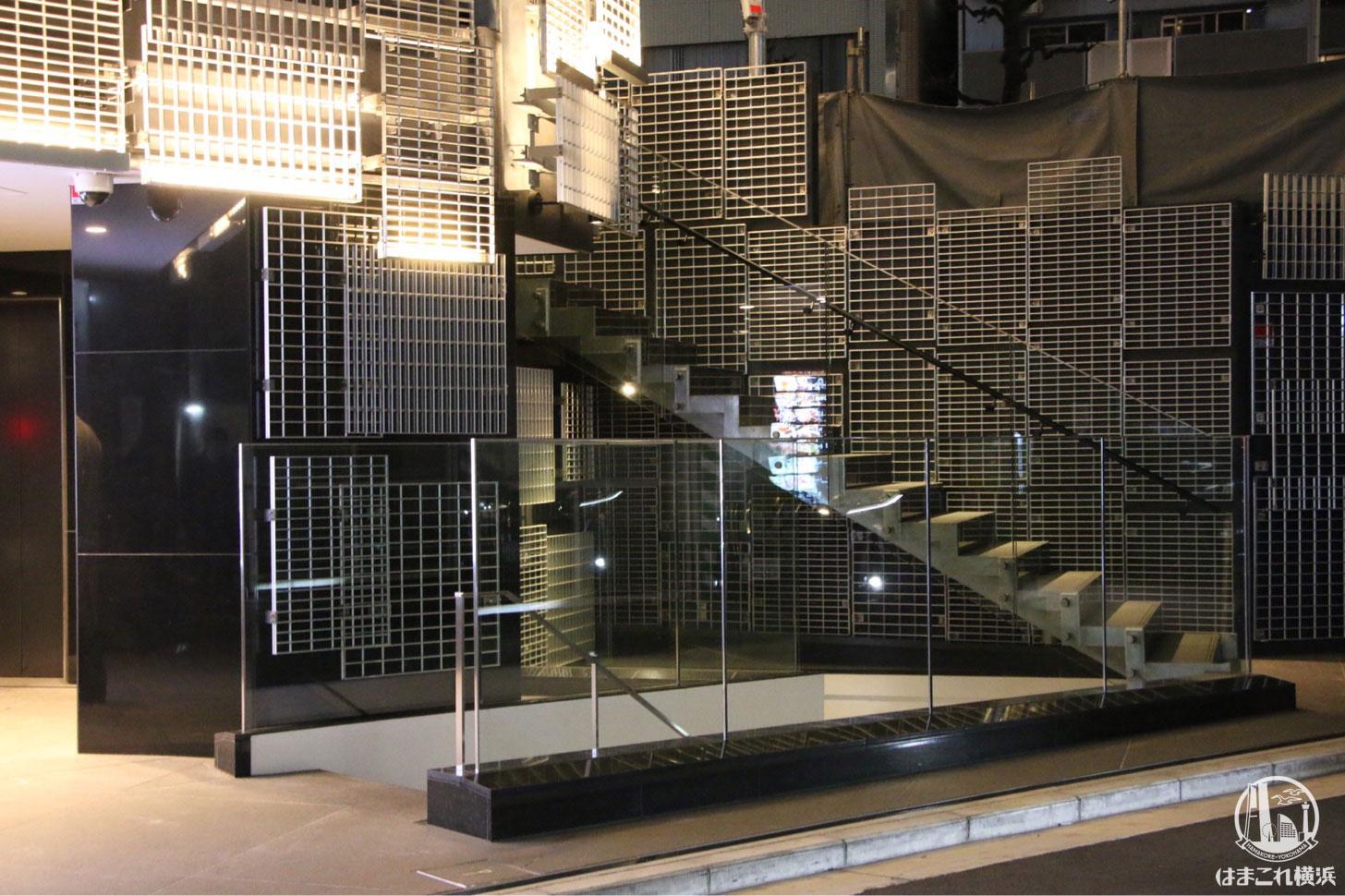 エイジング・ビーフ横濱 地下に降りる階段