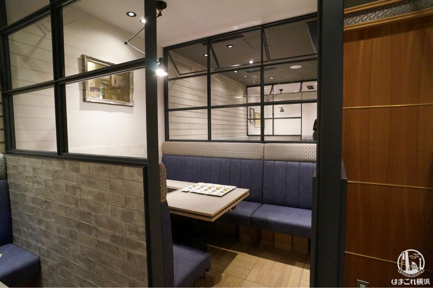 エイジング・ビーフ横濱 半個室