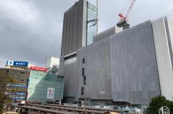 2019年1月 横浜駅西口 駅ビル完成までの様子 [写真掲載]