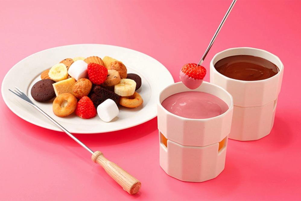チョコレートフォンデュ ルビー&ダーク