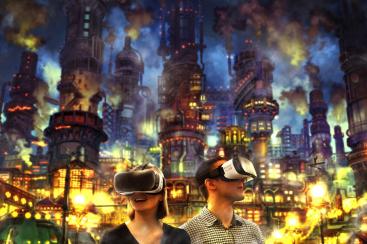 横浜駅 アソビル「えんとつ町のプペル VR」開催!絵本の世界が360度VRに
