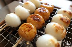 コメダ和喫茶「おかげ庵」横浜 お団子や餅が焼ける食事セットが楽しくランチに良かった!