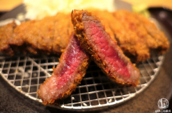 京都勝牛 横浜ポルタ店で牛カツランチ!あっさりして旨い大サイズ完食