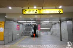 味噌ラーメン すみれ 横浜店まで桜木町駅から徒歩は余裕の距離!行き方を写真付紹介