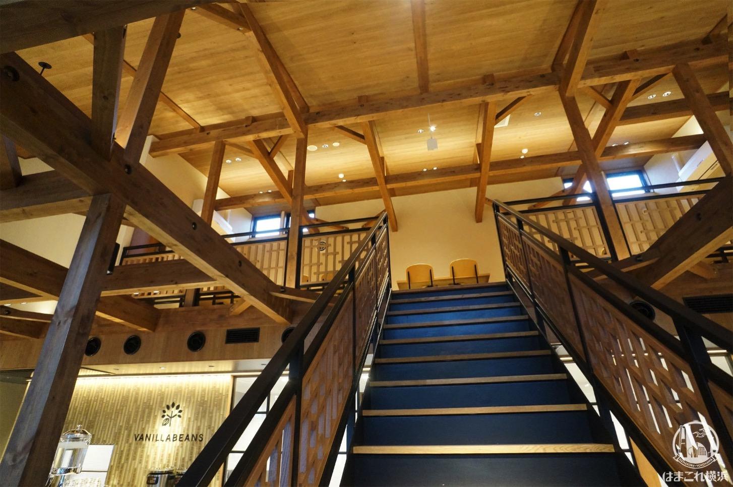 バニラビーンズ 鎌倉店 階段