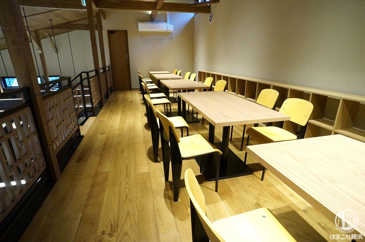 バニラビーンズ 鎌倉店 2階席