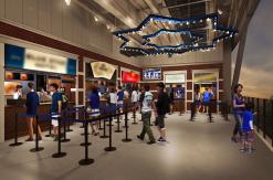 横浜スタジアム フードエリア「ベイサイド・アレイ」が新設ライト側スタンドに