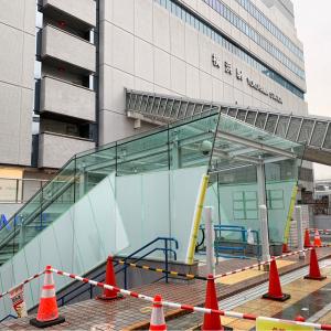 横浜駅東口 中央通路と東口駅前広場を繋ぐエスカレーターが3月1日より稼働