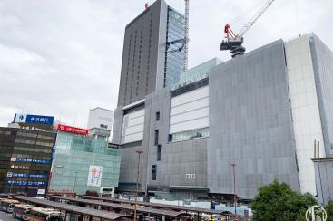 2019年2月 横浜駅西口 駅ビル完成までの様子 [写真掲載]