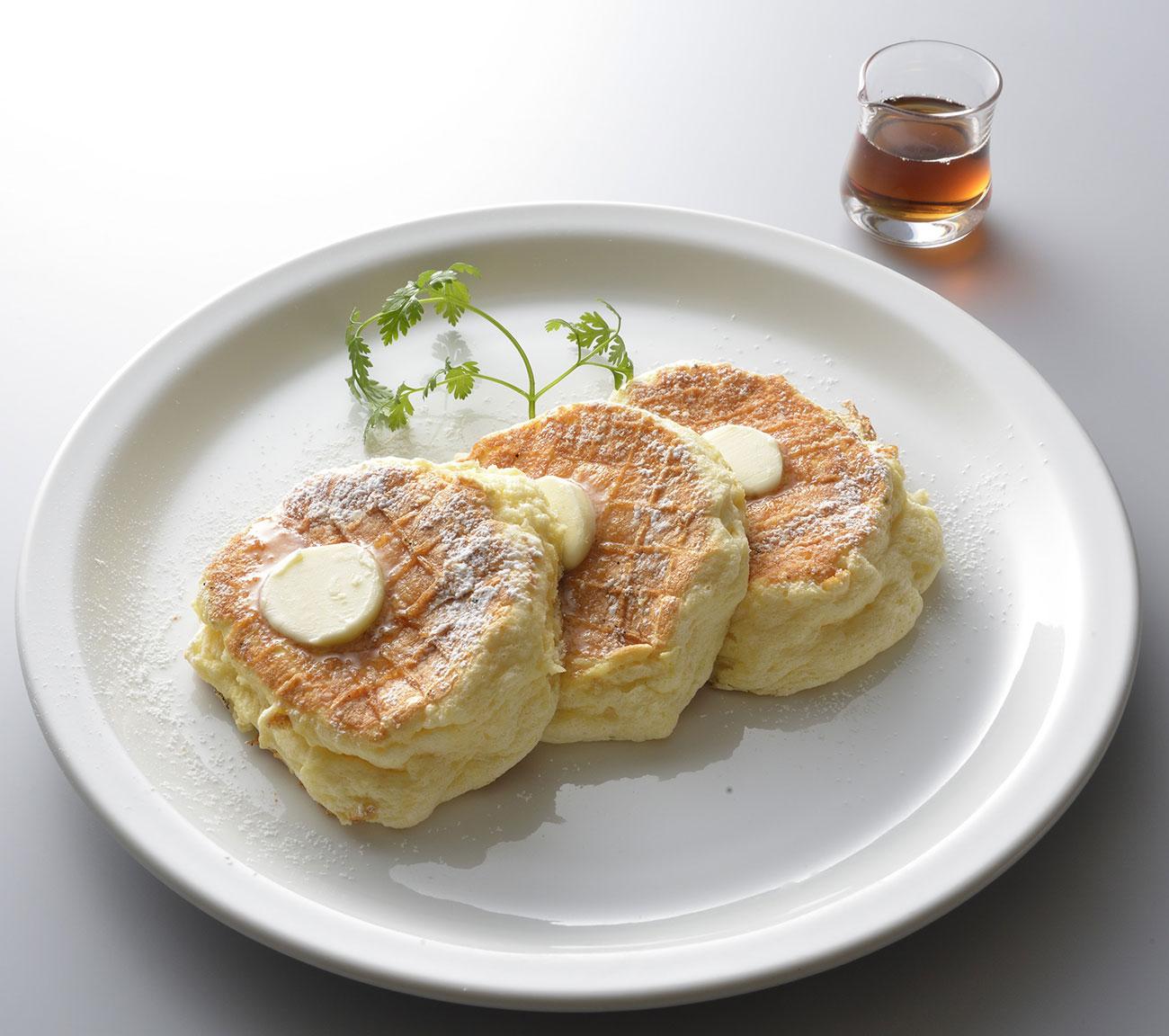 リコッタパンケーキ 1,200円