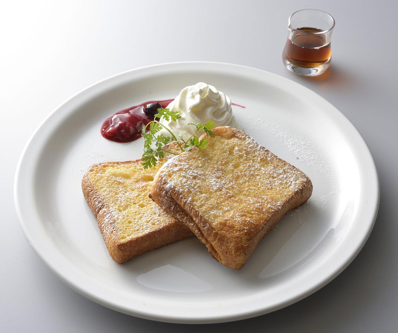フレンチトースト 1,200円