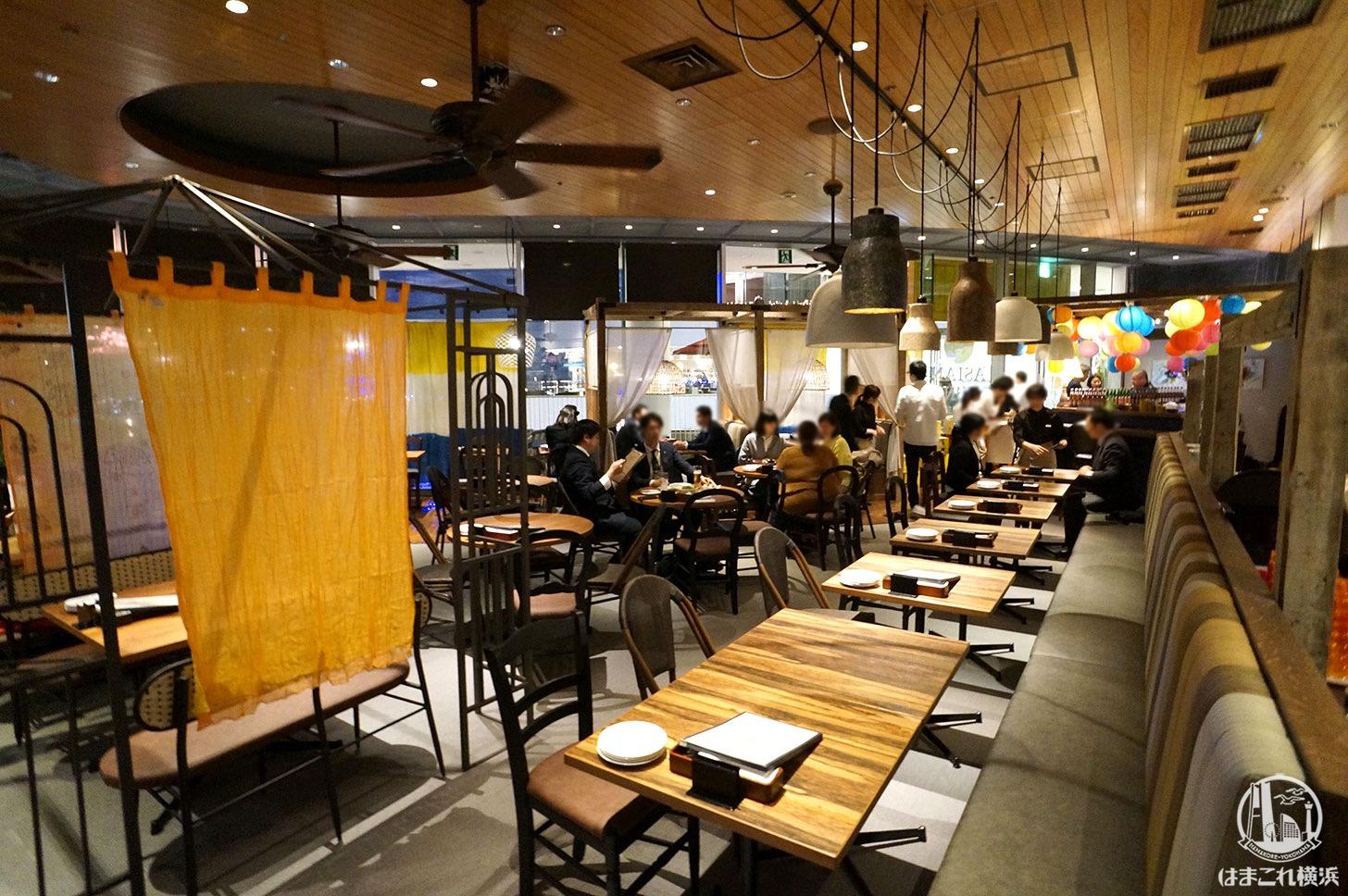 横浜 チャトニー アジアンエスニック・キッチンで夜景と ...