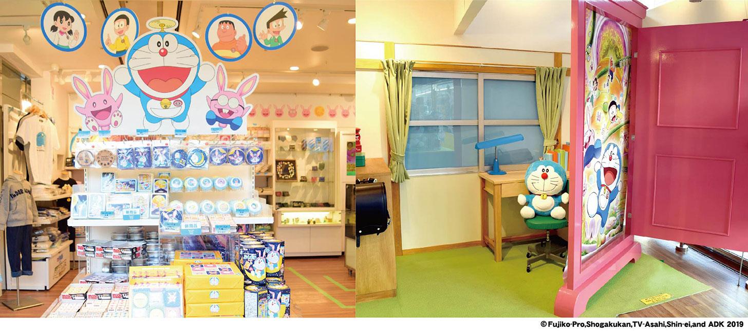 映画ドラえもん のび太の月面探査記のポップアップショップが横浜ランドマークプラザにオープン!