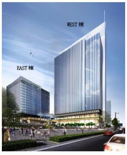 みなとみらい21中央地区53街区に大規模複合ビル開発!ペデストリアンデッキも