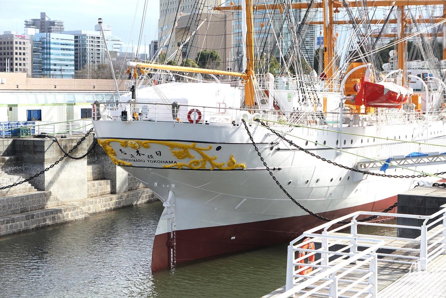 帆船日本丸 船体