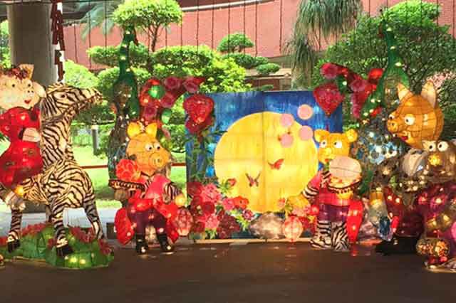 台湾祭 in 横浜赤レンガ ランタン