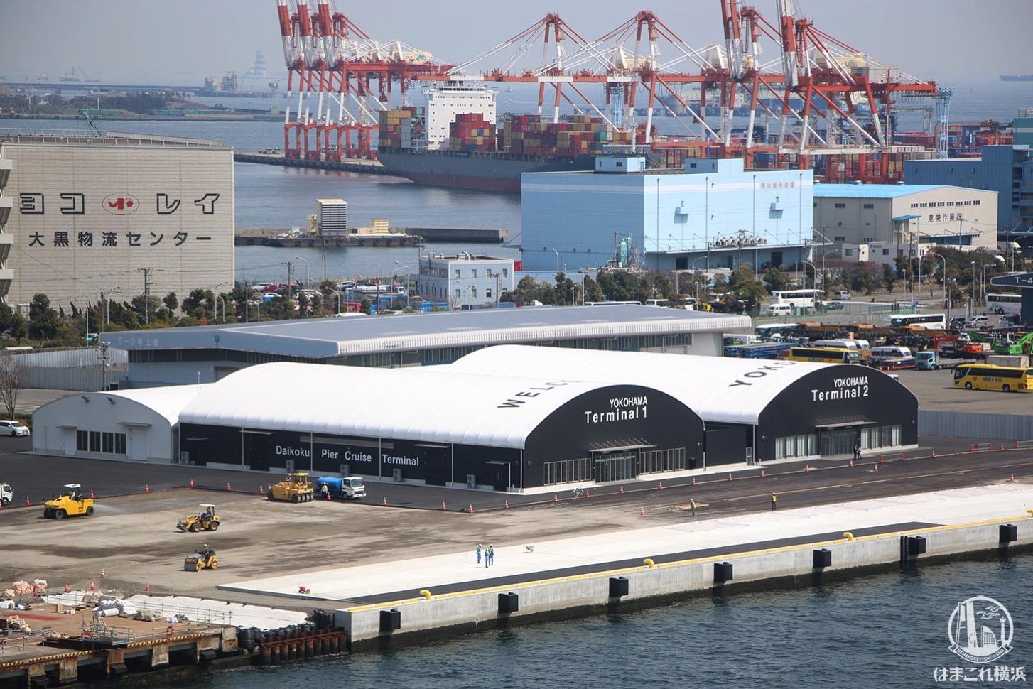 大黒ふ頭客船ターミナル