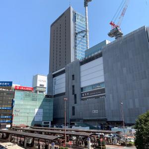 2019年3月 横浜駅西口 駅ビル完成までの様子 [写真掲載]
