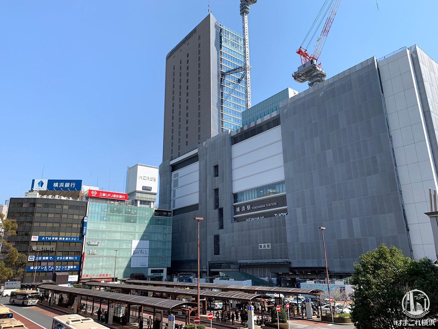 2019年3月 横浜駅西口の様子