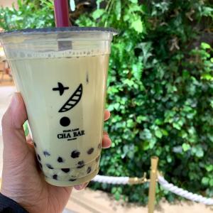 茶BAR(バー)横浜で「霧ほうじ茶ミルク 濃霧」も飲んでみた!大粒タピオカ安定の美味