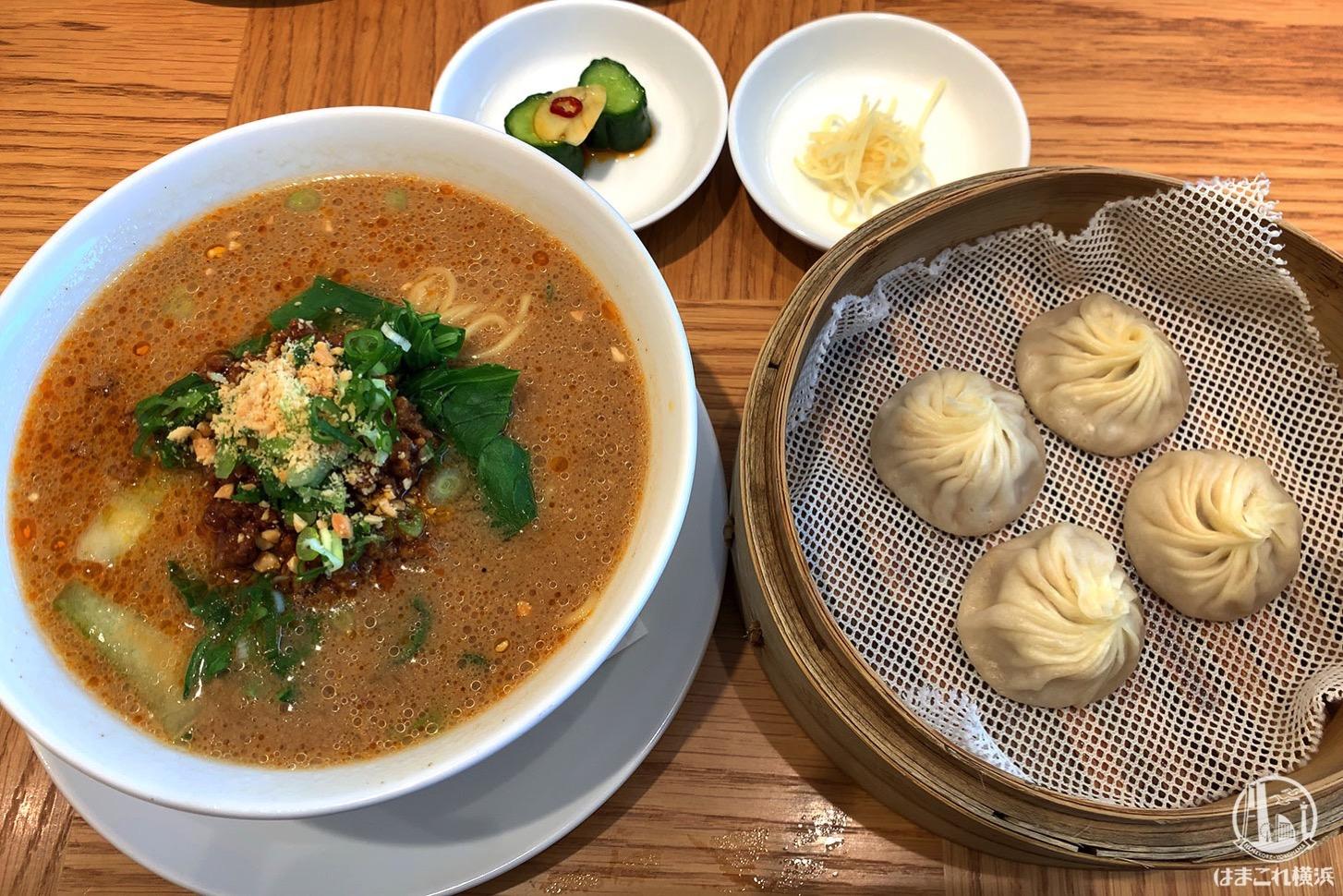 鼎泰豐(ディンタイフォン)みなとみらいでランチ!小籠包と担々麺のおすすめセット