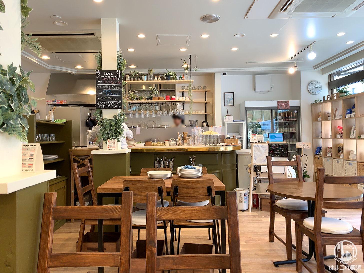 馬車道「リーフII」の丁寧な接客と心地良い空間は1人カフェにぴったり!